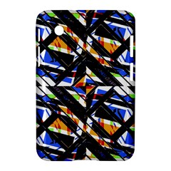 Multicolor Geometric Abstract Pattern Samsung Galaxy Tab 2 (7 ) P3100 Hardshell Case  by dflcprints