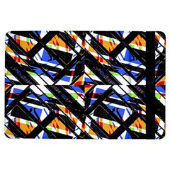 Multicolor Geometric Abstract Pattern Ipad Air Flip by dflcprints