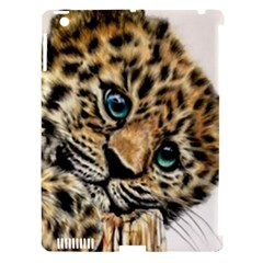 Jaguar Cub Apple Ipad 3/4 Hardshell Case (compatible With Smart Cover) by ArtByThree