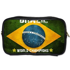 Football World Cup Toiletries Bags by Valentinaart