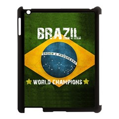 Football World Cup Apple Ipad 3/4 Case (black) by Valentinaart