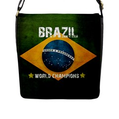 Football World Cup Flap Messenger Bag (l)  by Valentinaart