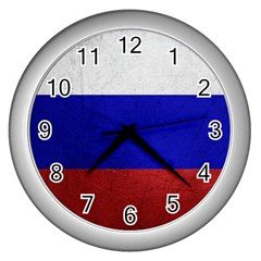 Football World Cup Wall Clocks (silver)  by Valentinaart