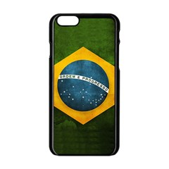 Football World Cup Apple Iphone 6/6s Black Enamel Case by Valentinaart