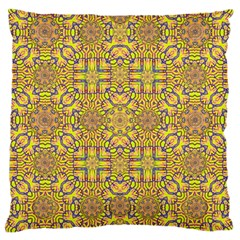 Forest Rainbow  Wood And Festive Soul Large Cushion Case (one Side) by pepitasart