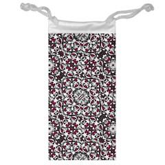 Boho Bold Vibrant Ornate Pattern Jewelry Bag by dflcprints