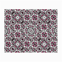 Boho Bold Vibrant Ornate Pattern Small Glasses Cloth (2 Side) by dflcprints