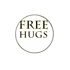 Freehugs Hat Clip Ball Marker (4 Pack) by cypryanus