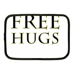 Freehugs Netbook Case (medium)  by cypryanus