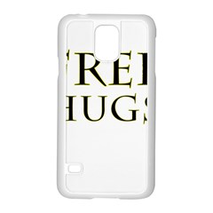 Freehugs Samsung Galaxy S5 Case (white) by cypryanus