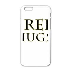 Freehugs Apple Iphone 6/6s White Enamel Case by cypryanus