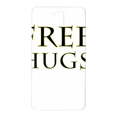 Freehugs Samsung Galaxy Note 3 N9005 Hardshell Back Case by cypryanus