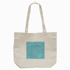 Woven1 White Marble & Turquoise Colored Pencil (r) Tote Bag (cream) by trendistuff