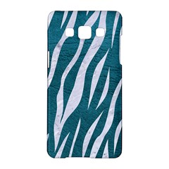 Skin3 White Marble & Teal Leather Samsung Galaxy A5 Hardshell Case  by trendistuff