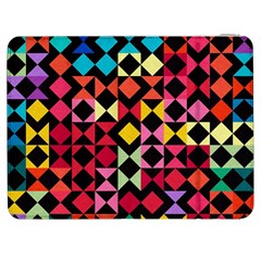 Colorful Rhombus And Triangles                          Htc One M7 Hardshell Case by LalyLauraFLM