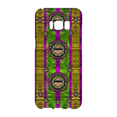 Sunset Love In The Rainbow Decorative Samsung Galaxy S8 Hardshell Case  by pepitasart