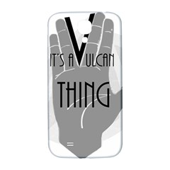 It s A Vulcan Thing Samsung Galaxy S4 I9500/i9505  Hardshell Back Case by Howtobead