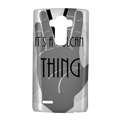 It s A Vulcan Thing Lg G4 Hardshell Case by Howtobead
