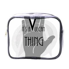 Vulcan Thing Mini Toiletries Bags by Howtobead