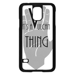 Vulcan Thing Samsung Galaxy S5 Case (black) by Howtobead