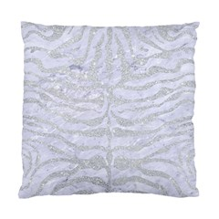 Skin2 White Marble & Silver Glitter (r) Standard Cushion Case (two Sides) by trendistuff