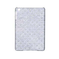 Scales2 White Marble & Silver Glitter Ipad Mini 2 Hardshell Cases by trendistuff