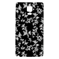 Dark Orquideas Floral Pattern Print Galaxy Note 4 Back Case by dflcprints