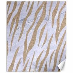 Skin3 White Marble & Sand (r) Canvas 20  X 24   by trendistuff