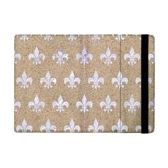Royal1 White Marble & Sand (r) Ipad Mini 2 Flip Cases by trendistuff