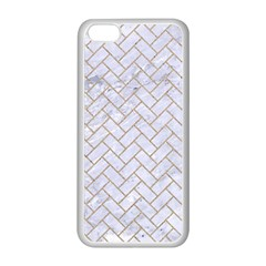 Brick2 White Marble & Sand (r) Apple Iphone 5c Seamless Case (white) by trendistuff