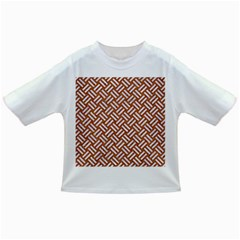 Woven2 White Marble & Rusted Metal Infant/toddler T Shirts by trendistuff