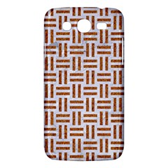 Woven1 White Marble & Rusted Metal (r) Samsung Galaxy Mega 5 8 I9152 Hardshell Case  by trendistuff