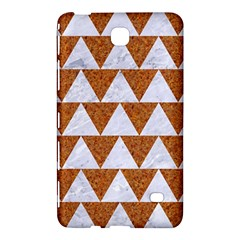 Triangle2 White Marble & Rusted Metal Samsung Galaxy Tab 4 (7 ) Hardshell Case  by trendistuff