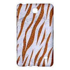 Skin3 White Marble & Rusted Metal (r) Samsung Galaxy Tab 4 (7 ) Hardshell Case  by trendistuff
