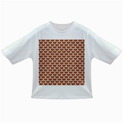Scales3 White Marble & Rusted Metal Infant/toddler T Shirts by trendistuff