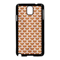 Scales3 White Marble & Rusted Metal Samsung Galaxy Note 3 Neo Hardshell Case (black) by trendistuff