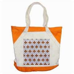 Royal1 White Marble & Rusted Metal Accent Tote Bag by trendistuff