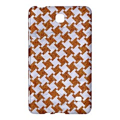 Houndstooth2 White Marble & Rusted Metal Samsung Galaxy Tab 4 (7 ) Hardshell Case  by trendistuff