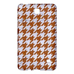 Houndstooth1 White Marble & Rusted Metal Samsung Galaxy Tab 4 (7 ) Hardshell Case  by trendistuff