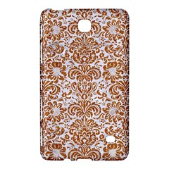 Damask2 White Marble & Rusted Metal (r) Samsung Galaxy Tab 4 (7 ) Hardshell Case  by trendistuff