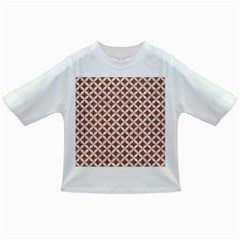 Circles3 White Marble & Rusted Metal Infant/toddler T Shirts by trendistuff