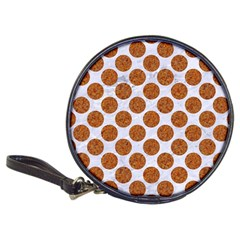 Circles2 White Marble & Rusted Metal (r) Classic 20 Cd Wallets by trendistuff