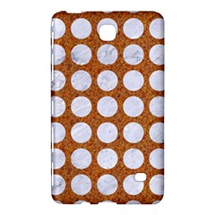 Circles1 White Marble & Rusted Metal Samsung Galaxy Tab 4 (7 ) Hardshell Case  by trendistuff