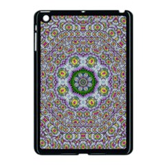Summer Bloom In Floral Spring Time Apple Ipad Mini Case (black) by pepitasart