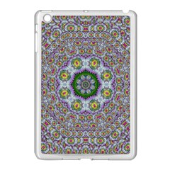 Summer Bloom In Floral Spring Time Apple Ipad Mini Case (white) by pepitasart