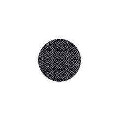 Black And White Tribal Print 1  Mini Buttons by dflcprints
