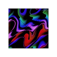 Hot Abstraction With Lines 2 Acrylic Tangram Puzzle (4  X 4 ) by MoreColorsinLife