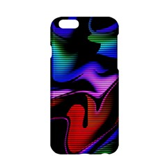 Hot Abstraction With Lines 2 Apple Iphone 6/6s Hardshell Case by MoreColorsinLife
