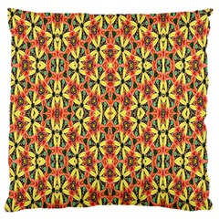 Pattern 25 Large Flano Cushion Case (two Sides)