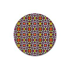 Pattern 28 Magnet 3  (round) by ArtworkByPatrick